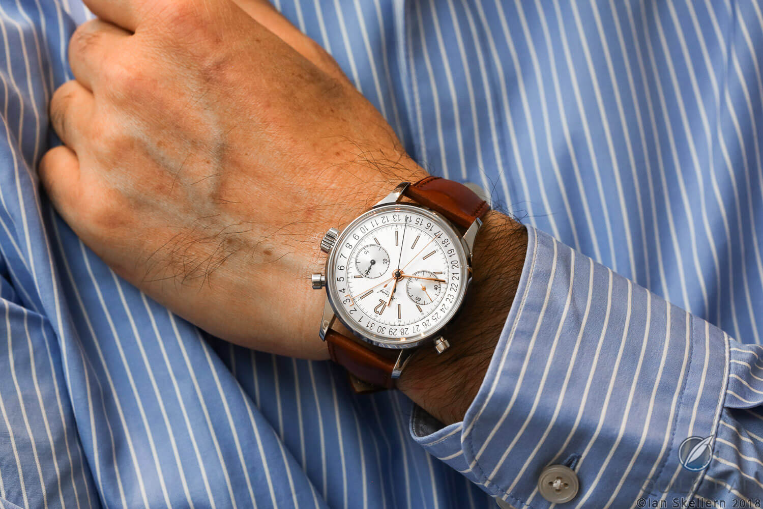 Habring2 Doppel-Felix on the wrist of Richard Habring