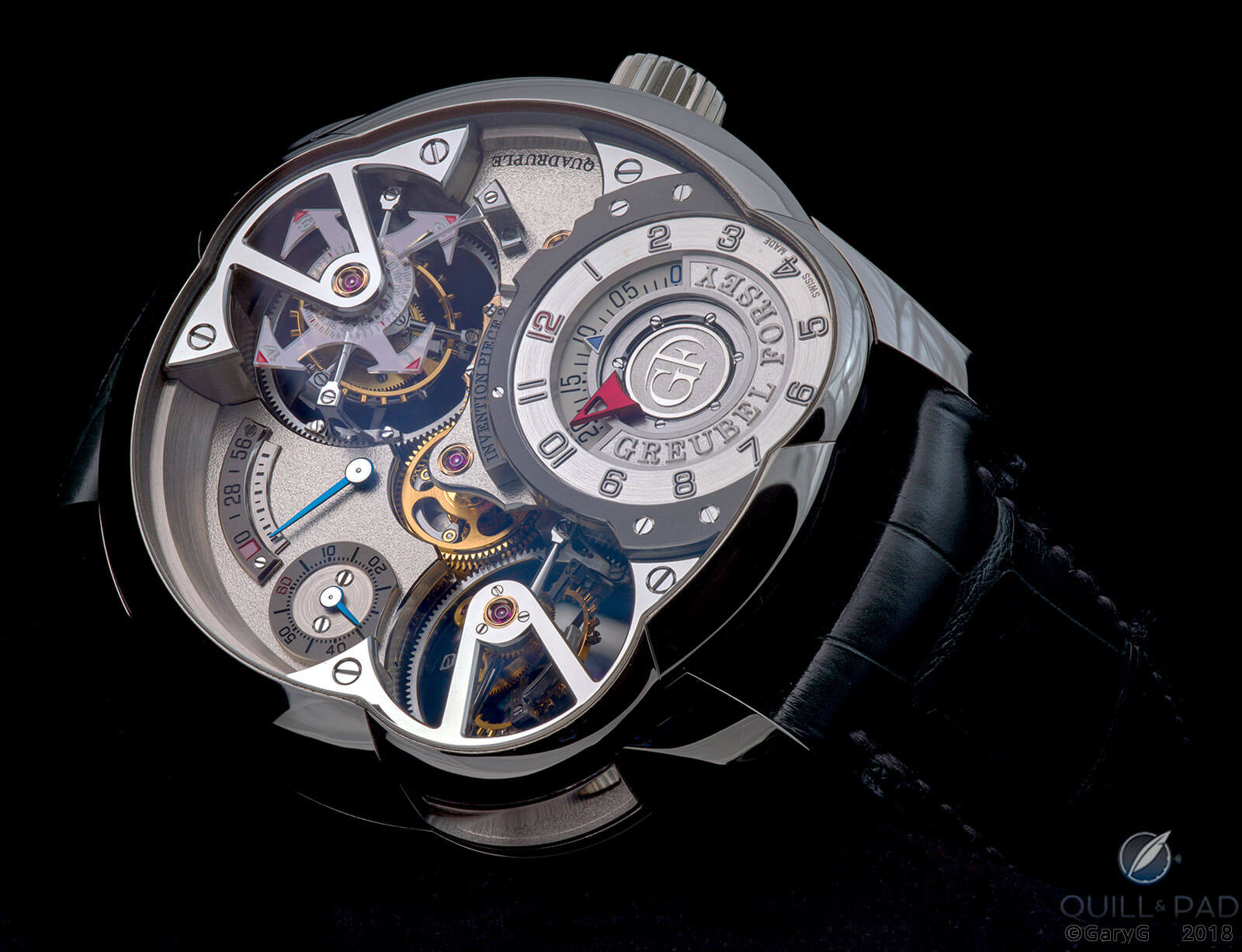 Low angle view, Invention Piece 2 by Greubel Forsey