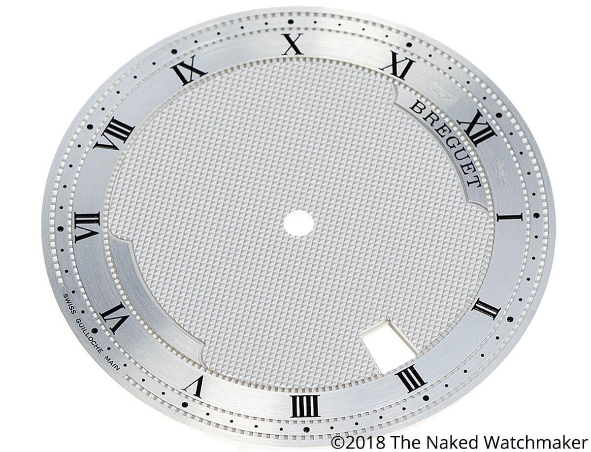 Hand guilloche dial of the Breguet Classique 5177