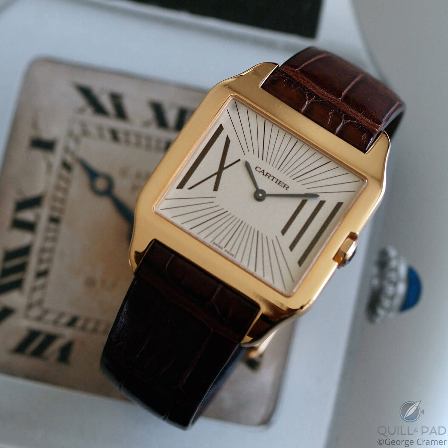 Cartier Santos-Dumont from 2005