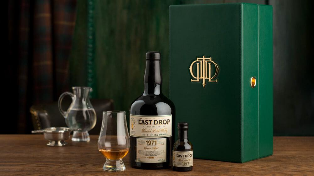 Last Drop 1971 Blended Scotch Whisky