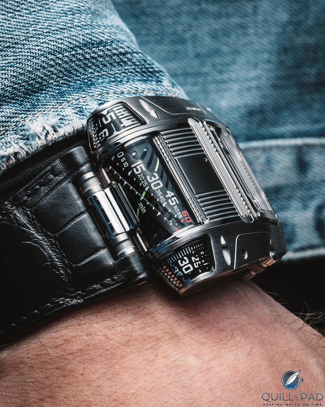 Urwerk UR-111C wristshot