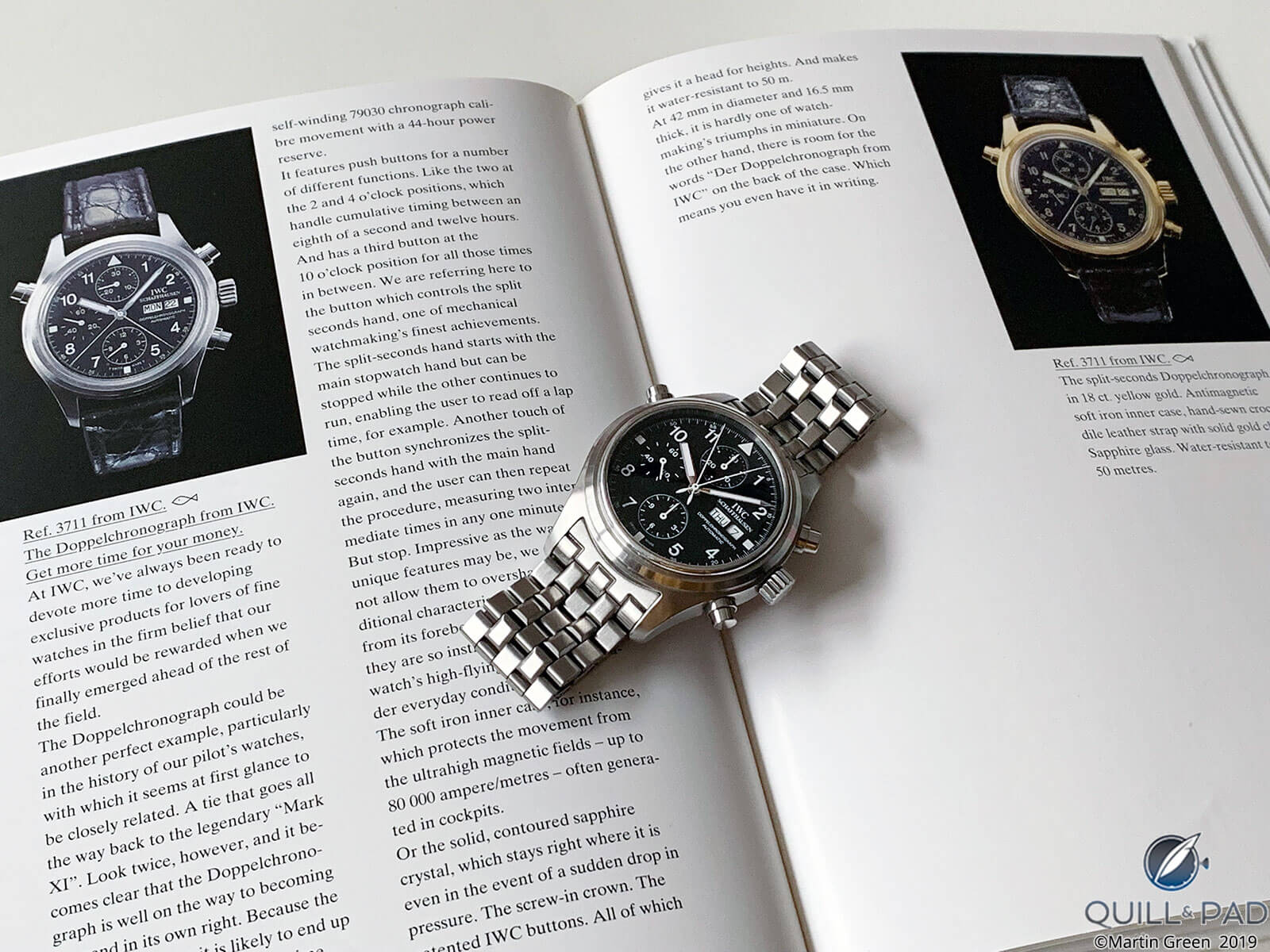 Der Doppelchronograph from the 1993 IWC calalog