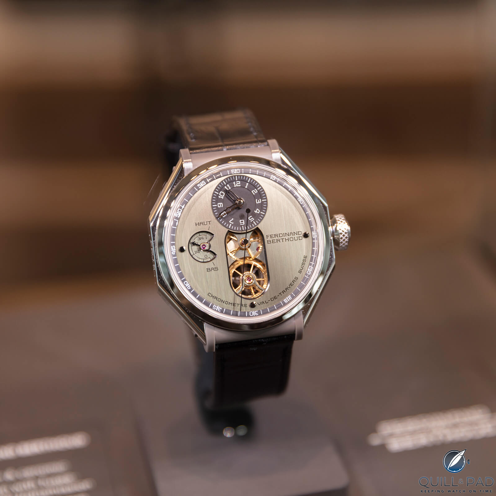 Ferdinand Berthoud Chronometre FB 1.2 at the Art in Time watch boutique in Monaco