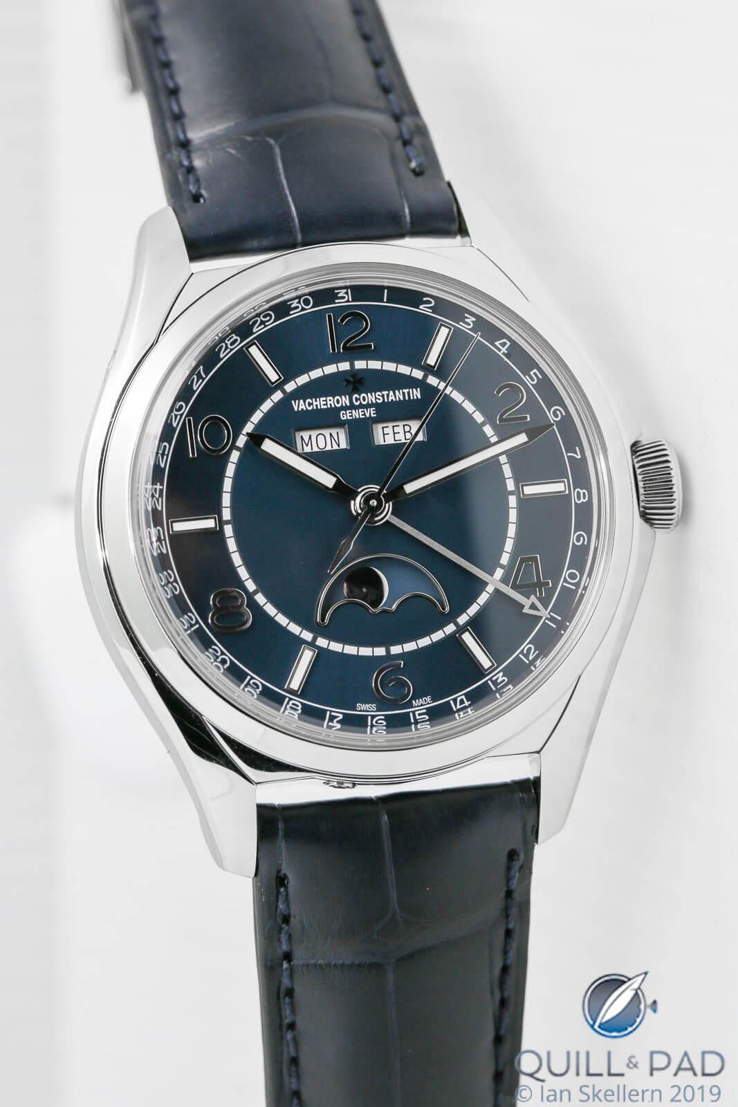 Vacheron Constantin FiftySix Blue Complete Calendar