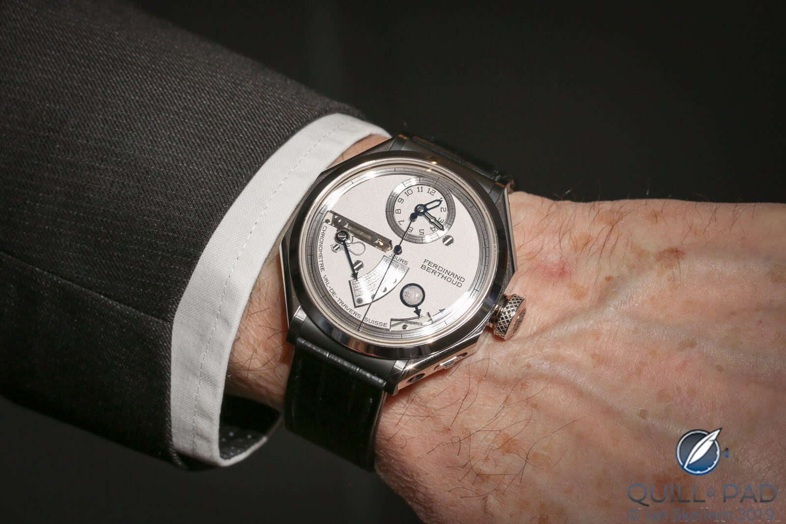 Ferdinand Berthoud FB 1L on the wrist