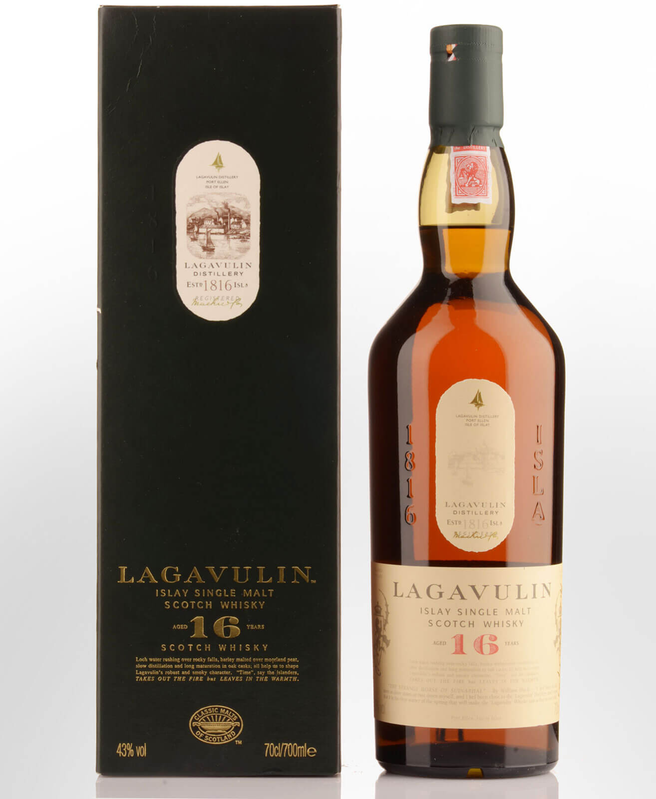 Lagavulin 16-year-old Islay whisky