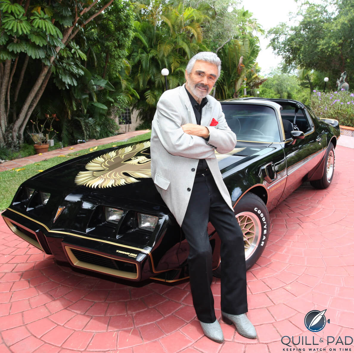 Bandit Era Trans Am Owned By Burt Reynolds Plus A Few Of His Watches On Julien S Auction Block In June 2019 10 4 Good Buddy Quill Pad