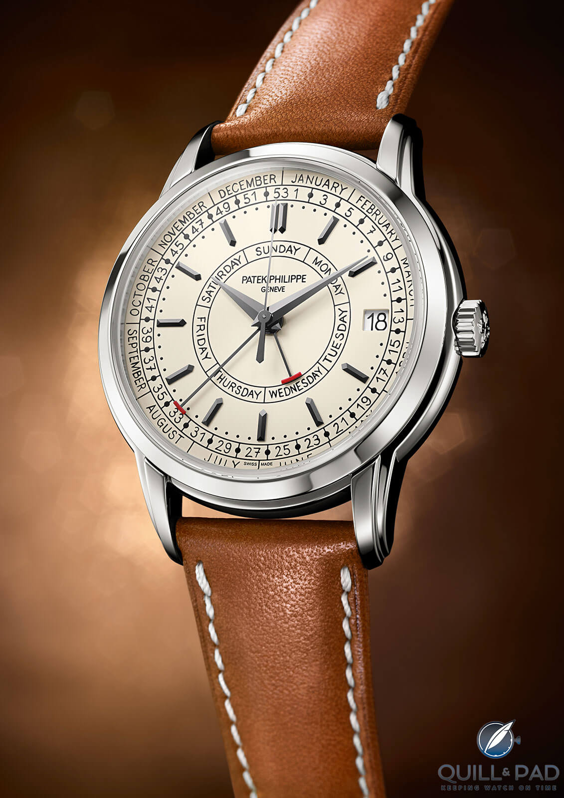 Patek Philippe 5212A Calatrava Weekly Calendar: Patek's First Production Steel Dress Watch In Decades