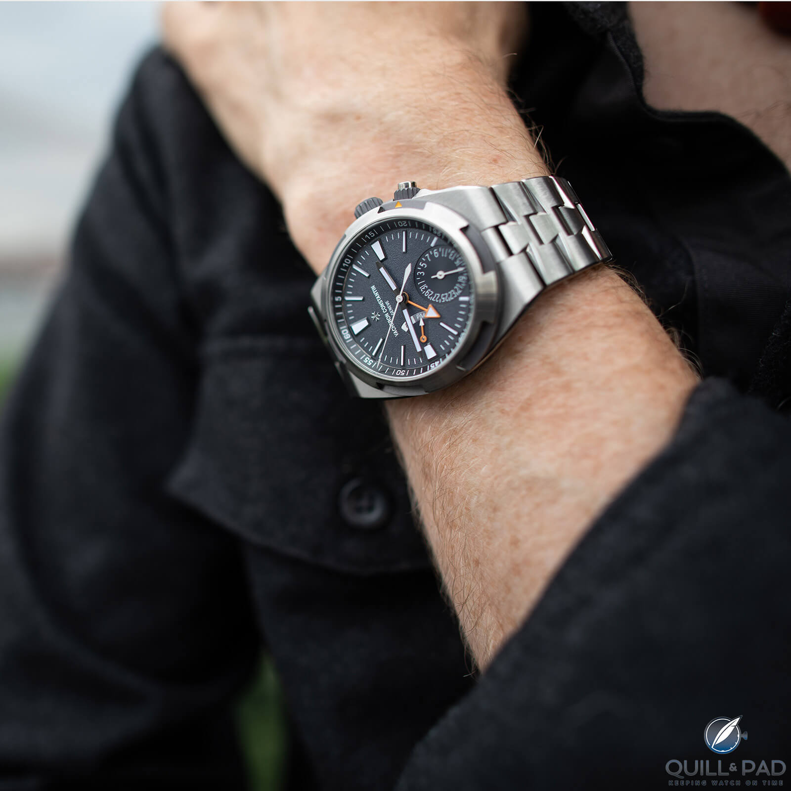 Cory Richards: A Vacheron Constantin 'One Of Not Many' And His Unique Piece Overseas Dual Time On Mount Everest